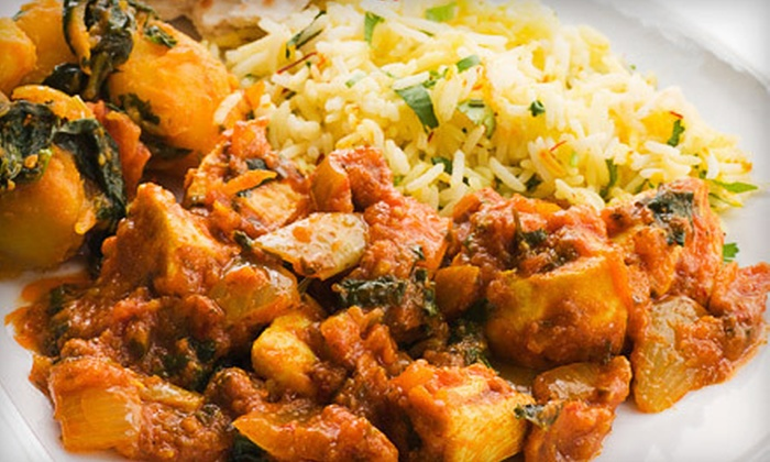 Saffron Indian Cuisine - Broadlands South: Indian Cuisine for Two or Four or More at Saffron Indian Cuisine (50% Off)