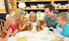 Color Me Mine - Valencia - Valencia: Ceramic-Painting Studio Fees for Two or Four at Color Me Mine Valencia (Up to 52% Off)