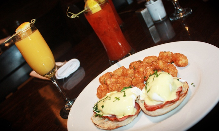 Revel - Garden City: Sunday Brunch for Two or Four with Unlimited Mimosas or Bloody Marys at Revel (Up to 36% Off)