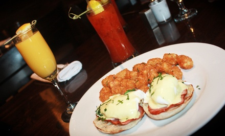 Sunday Brunch for Two or Four with Unlimited Mimosas or Bloody Marys at Revel (Up to 36% Off)