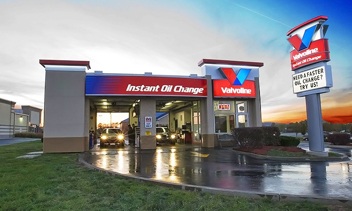 Valvoline Instant Oil Change - Multiple Locations: One Conventional, Full-Synthetic, or Synthetic-Blend Oil Change at Valvoline Instant Oil Change (Up to 45% Off)