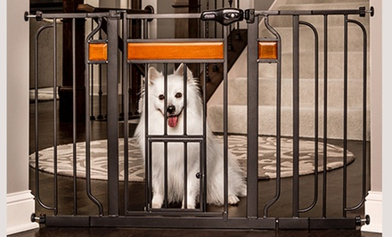 Design Walk-Through Pet Gate