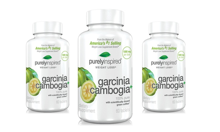 Buy 2 Get 1 Free: Purely Inspired Garcinia Cambogia Tablets: 1 Bottle ofPurely Inspired Garcinia Cambogia Tabletsor 2 Bottles with 1 Free