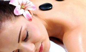 Home Spa Massage: 60- or 90-Minute Hot Stone Massage with Aromatherapy at Home Spa Massage (53% Off)
