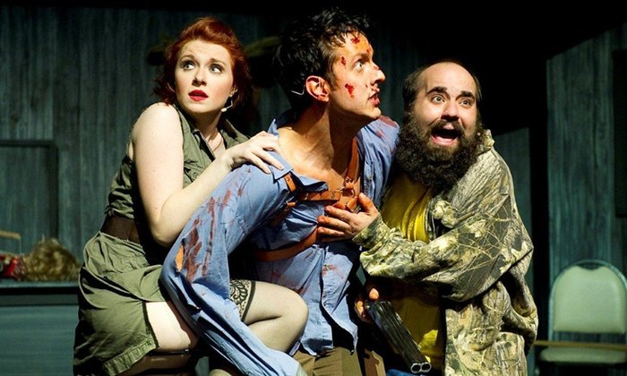 """""""Evil Dead The Musical 4D"""" - V Theater: """"Evil Dead The Musical 4D"""" for One or Two at V Theater (Up to 52% Off)"""