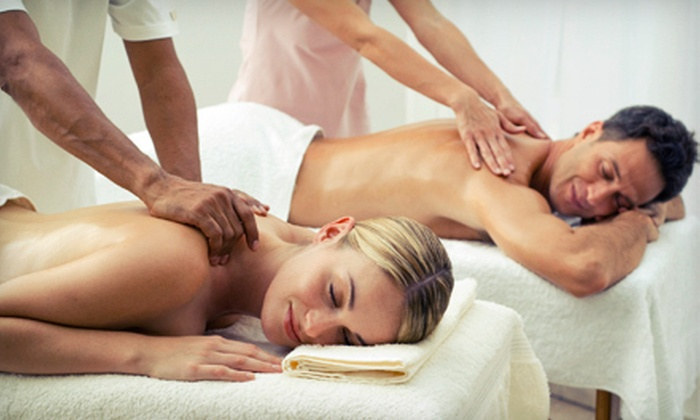 Enliven Body Work - Upper East Side: $99 for a 60-Minute Couples Massage with Chocolates and Champagne at Enliven Body Work (Up to $280 Value)