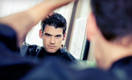 Shampoo, Haircut, and Hot-Towel Shave (a $29 value) - Manny's Cutz in Whitestone