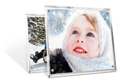 Personalised Crystal Photo Frame