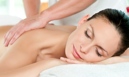 60-Minute Massage or $70 Worth of Hair Services at Indigo Salon & Serenity Spa (Up to 51% Value)