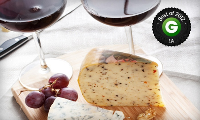 Orange Coast Winery - Newport Beach: $49 for Wine and Cheese Tasting for Two with Souvenir Glasses at Orange Coast Winery ($99 Value)