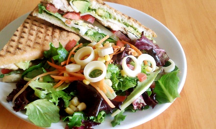 $11 for $22 Worth of Breakfast and Lunch Fare for Two or More at Vees Café