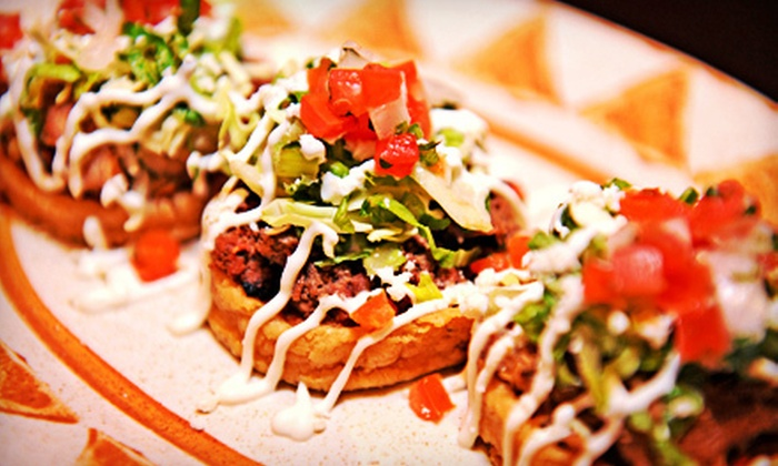 Hussong's Cantina Taqueria Las Vegas - The Shoppes at Mandalay Place: Mexican Food and Drinks at Hussong's Cantina Taqueria (Half Off). Two Options Available.