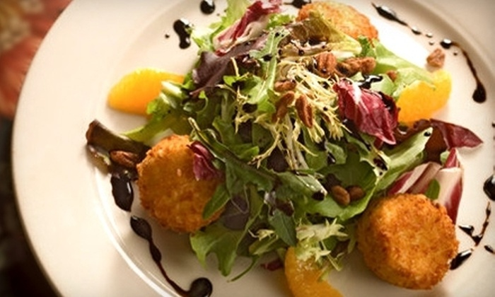 Pewter Rose Bistro - Dilworth: European-Amercian Cuisine at Pewter Rose Bistro (Up to 51% Off). Two Options Available.
