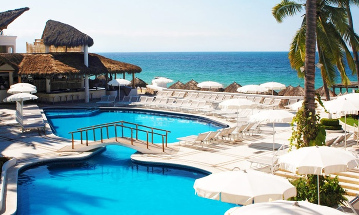 Buenaventura Grand Hotel & Spa, Puerto Vallarta - Mexico: 3-, 4-, or 5-Night All-Inclusive for Two at Buenaventura Grand Hotel & Spa, Puerto Vallarta. Includes Taxes and Fees.