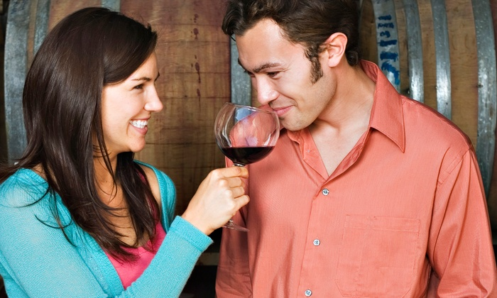Orange Coast Winery - Newport Beach: Tasting for 2, Glasses, & Cheese with Option for 1 or 2 Take-Home Bottles at Orange Coast Winery (Up to 51% Off)