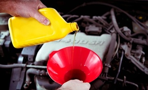 All-Star Auto Brokers: Emissions Test or Oil Change with AC Check and Brake Inspection at All-Star Auto Brokers (Up to 78% Off)