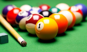 Pot Black Family Pool and Snooker Centres: $15 for a Three-Hour Pool Table Hire at Pot Black Family Pool and Snooker Centres (Up to $90 Value)
