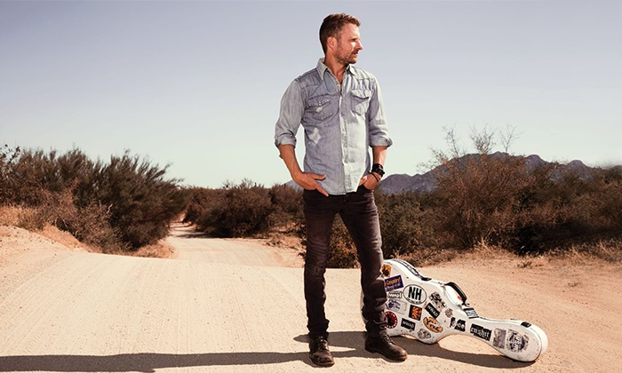 Dierks Bentley with Randy Houser and Tim Hicks - The Canadian Tire Centre: Dierks Bentley Riser Tour 2014 with Randy Houser and Tim Hicks at Canadian Tire Centre on December 2 (Up to 30% Off)