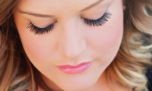 Lash & Glow: Full Set of Eyelash Extensions with Optional Fill at Lash & Glow (Up to 66% Off)