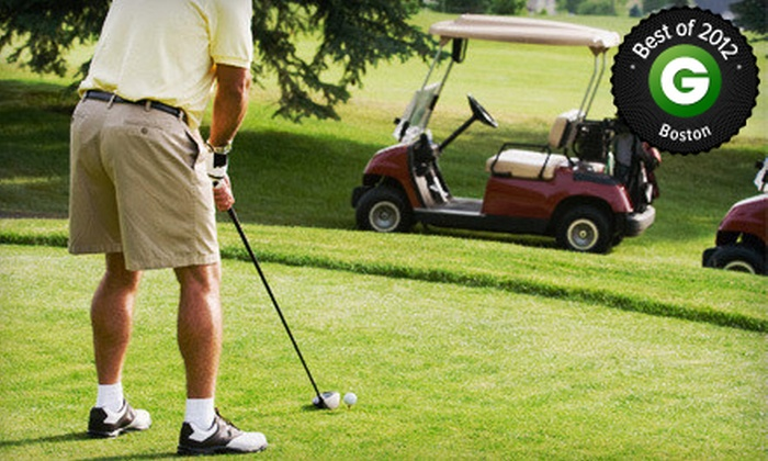 Twin Springs Golf Course - Bolton: Nine-Hole Round of Golf for Two or Four Including Cart and Range Balls at Twin Springs Golf Course (Up to 57% Off)