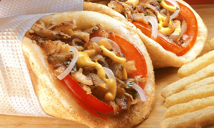 EZ Grill NYC - Bronxdale: $11 for Two Groupons, Each Good for $10 Worth of Gyros and Burgers at EZ Grill NYC ($20 Value)