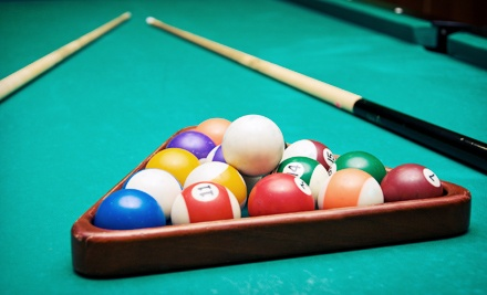 Billiards, Appetizers, and Drinks for Two or Four at Easy Street Billiards (Up to 53% Off)