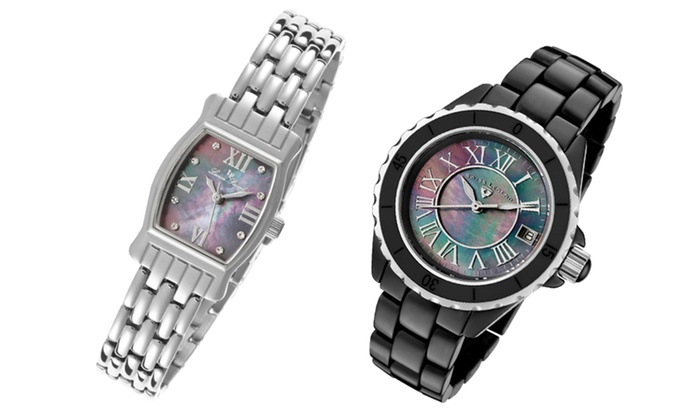 The Best of ideeli - Watches: The Mother of Pearl Watch Collection. Multiple styles available from Some of our Best Selections