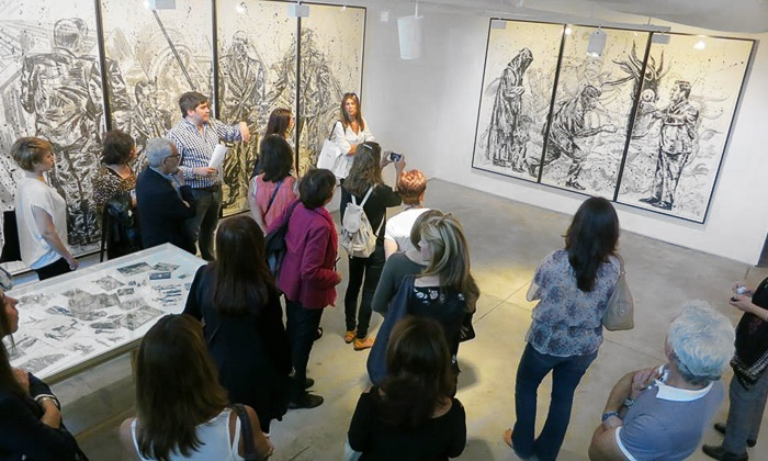 On Art with Viviane Silvera - Multiple Locations: Walking Tour of Galleries and Artists' Studios for One or Two from On Art with Viviane Silvera (Up to 55% Off)