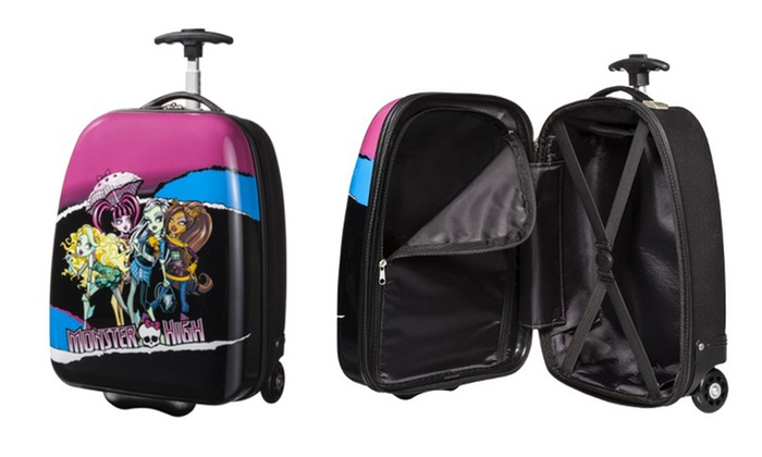 Monster High Hard-Shell Rolling Luggage Case: Monster High Hard-Shell Rolling Luggage Case.