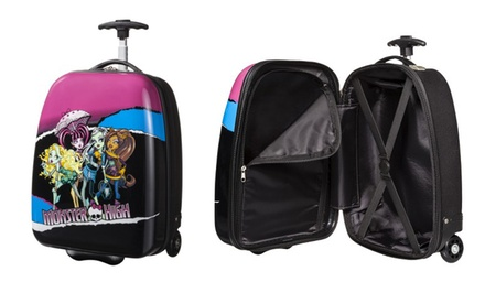 Monster High Hard-Shell Rolling Luggage Case.