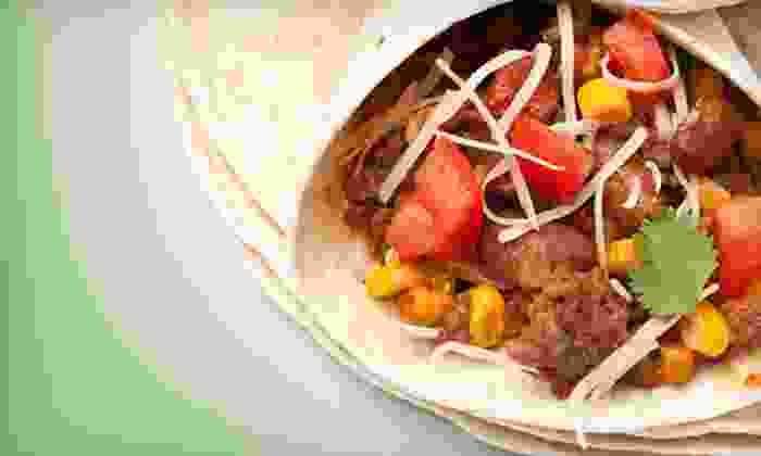 Bad Azz Burrito - Fairway Bend: Burritos and Fountain Drinks at Bad Azz Burrito (50% Off). Two Options Available.
