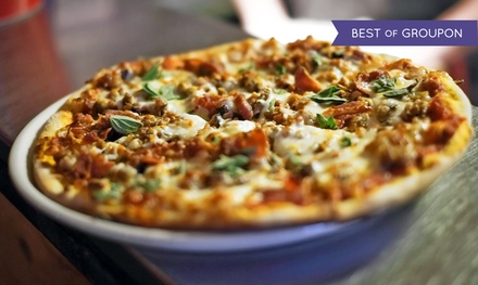 Personal Pizzas and Signature Mason Jar Cocktails or Beers, or Takeout or Delivery at Slice & Co. (Up to 52% Off)