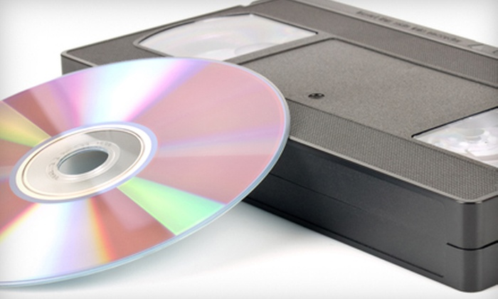 Home Movie Preservation Center - South Scottsdale: $25 for Five Video-to-DVD Transfers at Home Movie Preservation Center in Scottsdale ($49.75 Value)
