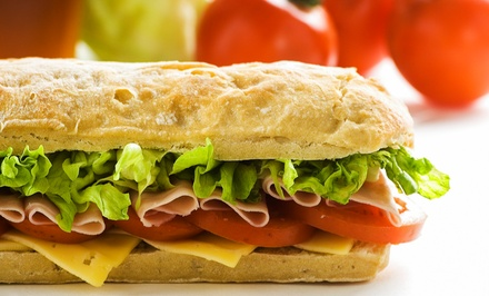 $9.50 for $16 Worth of Toasted Sandwiches, Salads, and Wraps at Quiznos