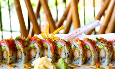 $24 for $40 Worth of Thai Food and Sushi for Two or More at Asia Bay Thai Cuisine & Sushi Bar