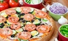Pizza California - McKay - Ringwood: Pizzeria Food at Pizza California (Up to 50% Off). Four Options Available.