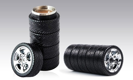 Car Tire-Inspired Thermos