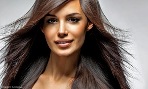 The Hair Brewery: Cut w/ Option for Prtl or Full Highlights, Full Color or Smoothing Treatment at The Hair Brewery (Up to 60% Off)