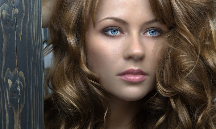 Evolution Hair Designs - Rumford: Haircut, Deep-Conditioning Treatment, and Style with Optional Partial Highlights at Evolution Hair Designs (53% Off)