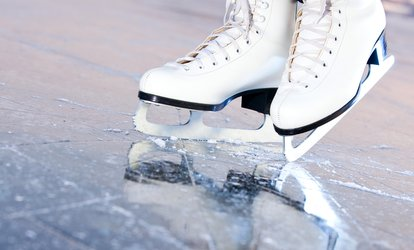 image for Ice-Skating Admission and Skate Rental for Two or Four at Mentor Ice Arena (Up to 53% Off)