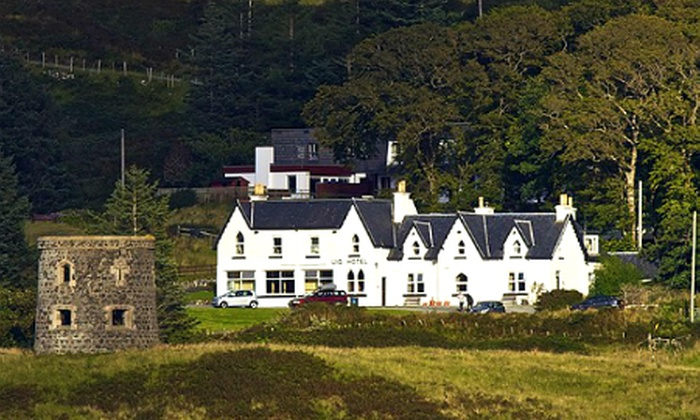 Uig Hotel - Isle of Skye: Isle of Skye: 1 to 3 Nights For Two With Ale and Brewery Tour and from £54 at the Uig Hotel (Up to 52% Off)