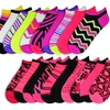 10-Pair-Pack of Women's Mix-It-Up Animal Print and Stripes Socks