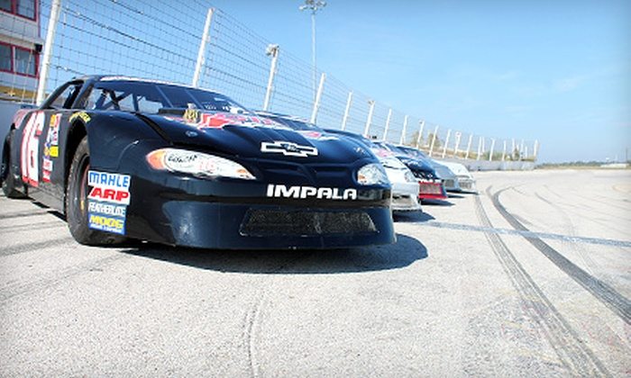 Rusty Wallace Racing Experience - The New Stockton 99 Speedway: Racing Experience or Ride-Along at Rusty Wallace Racing Experience (Up to 51% Off).