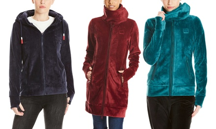 Bench modische und bequeme Sweat- oder Fleecejacke für Damen im Modell, in der Farbe und Größe nach Wahl (Frankfurt)