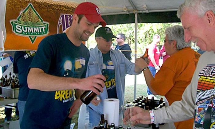 Big Muddy Monster Brewfest - Riverside Park: Visit for Two or Four to Big Muddy Monster Brewfest (Up to Half Off)