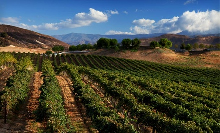 1-Night Stay with Wine Tasting at Tuscany Hills Resort in Escondido, CA
