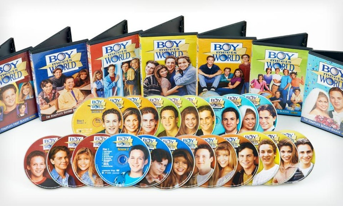 boy meet world dvd