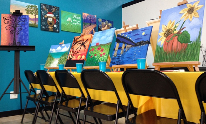 Sip n' Create - Sarasota: Arts n' Carafes Club One-year Membership for One or Two at Sip n' Create