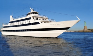 Up to 39% Off Three-Hour Dinner Cruise at Spirit of New York, plus 6.0% Cash Back from Ebates.