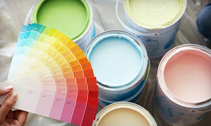Mister House Painter - Barrie: $99 for Interior Painting for One Room of Up to 200 Square Feet from Mister House Painter ($300 Value)